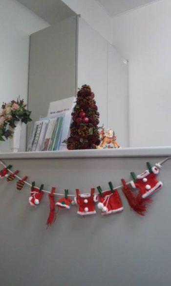 クリスマス風入口(1)